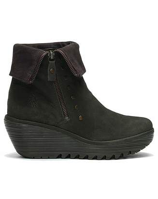 1b8e4725c268 Fly London Wedge Ankle Boot - ShopStyle UK