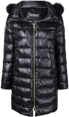 Herno zipped up padded coat