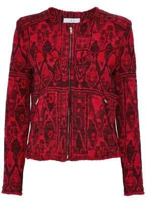IRO Frayed Bouclé-Tweed Jacquard Jacket