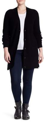 Naked Cashmere Momma Cass Long Cardigan (Plus Size)