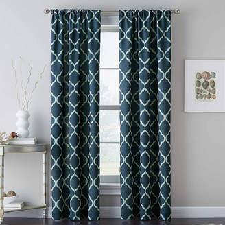 CHF Casbah Trellis Rod-Pocket Curtain Panel