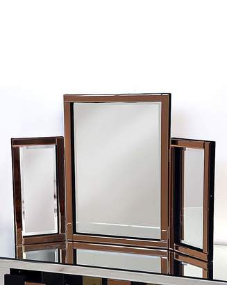 Fashion World Bevelled Dressing Table Mirror-Copper
