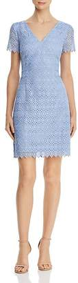 Adrianna Papell Geo Lace Dress