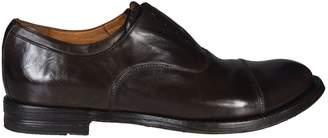 Officine Creative ''anatomia'' Laceless Oxford Shoes