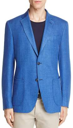 0909 Textured Solid Slim Fit Sport Coat $495 thestylecure.com