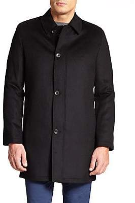 Saks Fifth Avenue Men's COLLECTION Wool& Cashmere Coat