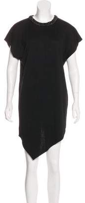 Andrew Gn Virgin Wool Dress