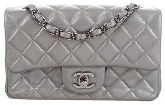 db9cd3e3fcf120 Chanel Silver Quilted Leather Handbags - ShopStyle