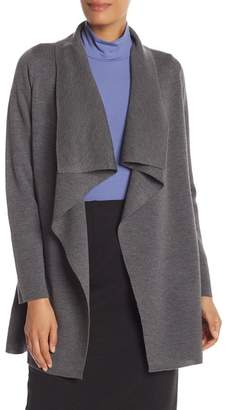 Eileen Fisher Long Angle Front Cardigan