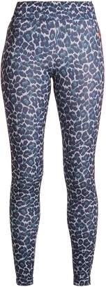 LAAIN Tamara leopard-print compression leggings