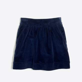 J.Crew Factory Girls' cord skirt