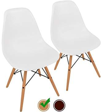 ABS by Allen Schwartz UrbanMod Mid Century Modern Style Chairs the 'Easy Assemble Dsw Ergoflex Plastic and 'One Wipe Wonder' Cleaning Comfortable Dining Meets 5-Star