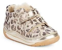 Naturino Baby's & Little Girl's Metallic Leopard Print Sneakers