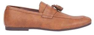 Mens Tan Leather Looks Loafers