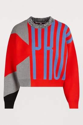 Proenza Schouler Logo sweater