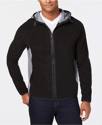 Michael Kors Men's Zip-Front Fleece Hoodie