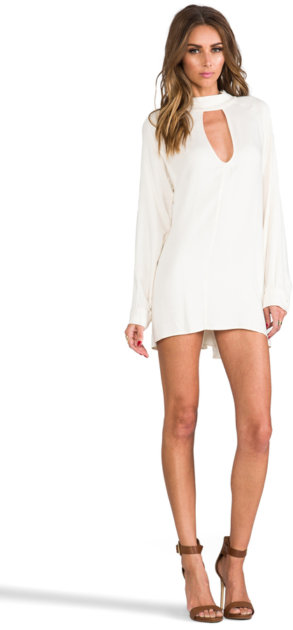 For Love & Lemons Charming Loose Fit Cut-Out Dress