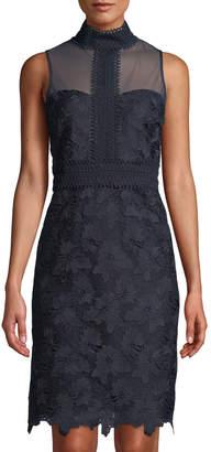 Nanette Lepore Nanette Floral Lace Sheath Dress