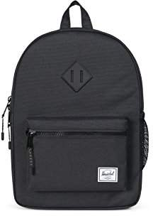 Herschel (ハーシェル) - [ハーシェル]Heritage Youth キッズ Black/Black Rubber