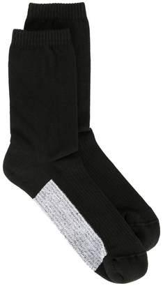 Rick Owens panelled socks