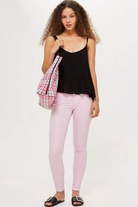 Topshop MOTO Lilac Leigh Jeans