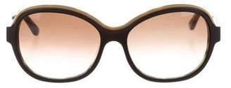 Salvatore Ferragamo Tortoiseshell Logo Sunglasses w/ Tags