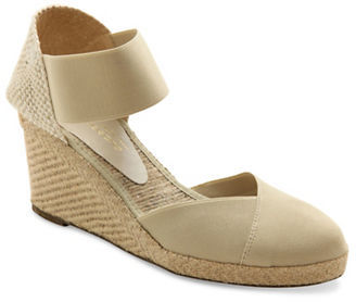Andre Assous Anouka Espadrille Wedge Sandals $175 thestylecure.com