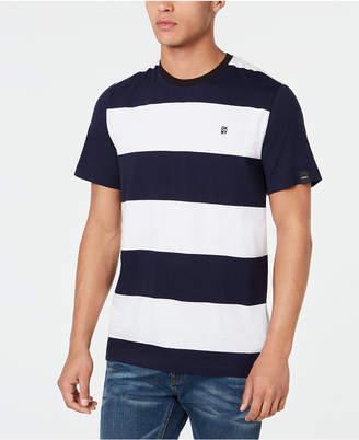 DKNY Men Striped T-Shirt