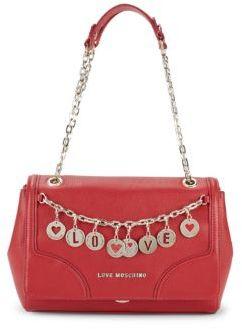 Love MoschinoGrained Shoulder Bag