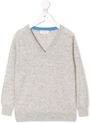 Cashmirino Cashmere v-neck jumper