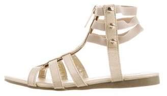MICHAEL Michael Kors Girls' Metallic Gladiator Sandals