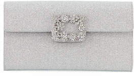 Roger Vivier ENVELOPE FLAP FLOWER STRASS