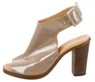 MM6 MAISON MARGIELA Iridescent Slingback Sandals
