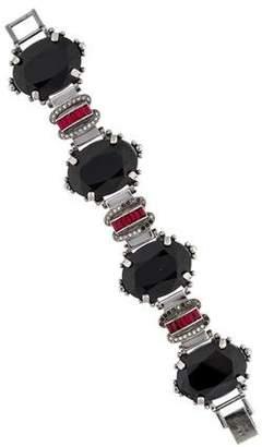 Mawi Crystal Link Bracelet
