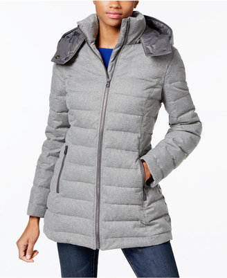 Nautica Hooded Puffer Coat $195 thestylecure.com