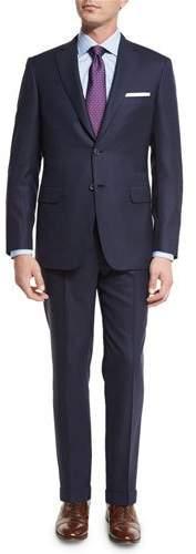 BrioniBrioni Tonal-Stripe Super 160s Wool Two-Piece Suit, Navy