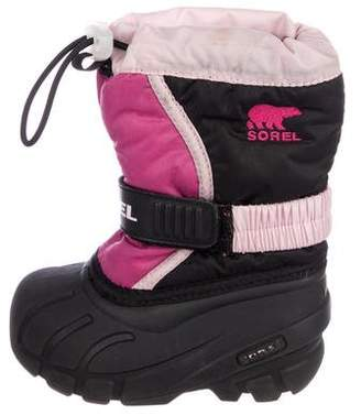 Sorel Girls' Colorblock Snow Boots