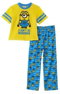 Character Sleepwear Boys' 2pc Despicable Me Set.
