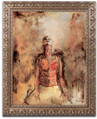 Trademark Fine Art Joarez 'Totally Surrender' Ornate Framed Art