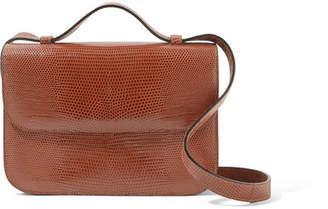Hunting Season - Lizard Shoulder Bag - Brown
