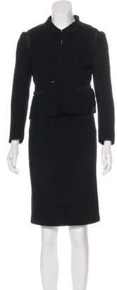 Nina Ricci Wool Skirt Suit