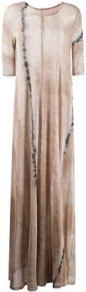 Raquel Allegra tie dye maxi dress