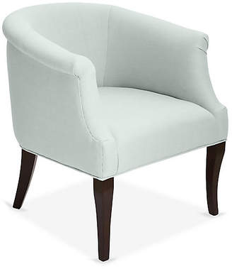 One Kings Lane Selby Club Chair - Seafoam Linen