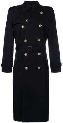 Givenchy double-breasted belted coat