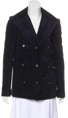 The Row Double-Breasted Short Coat