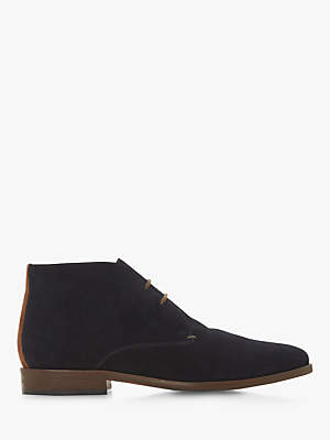 Dune Mansfield Suede Chukka Boots