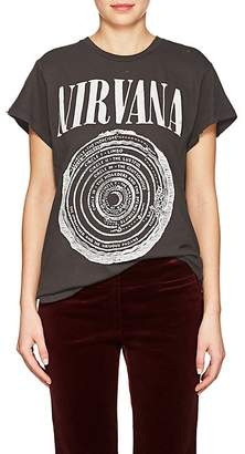 Madeworn Women's Band-Graphic Cotton T-Shirt