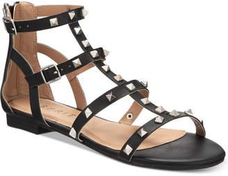 Esprit Keira Embellished Gladiator Flat Sandals Women's Shoes