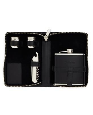 Brooks Brothers Traveling Flask Set