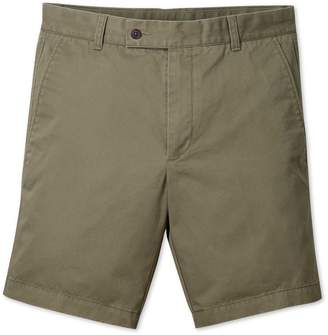 Khaki Chino Cotton Shorts Size 30 by Charles Tyrwhitt